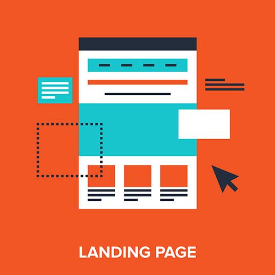 Page d'atterrissage pour votre campagne Google AdWords