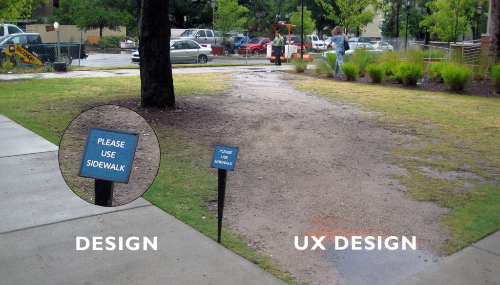 Exemple d'UX design